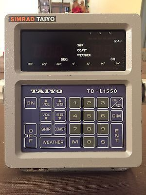 Simrad Taiyo TD-L1550 A Synthesized VHF Automatic Digital