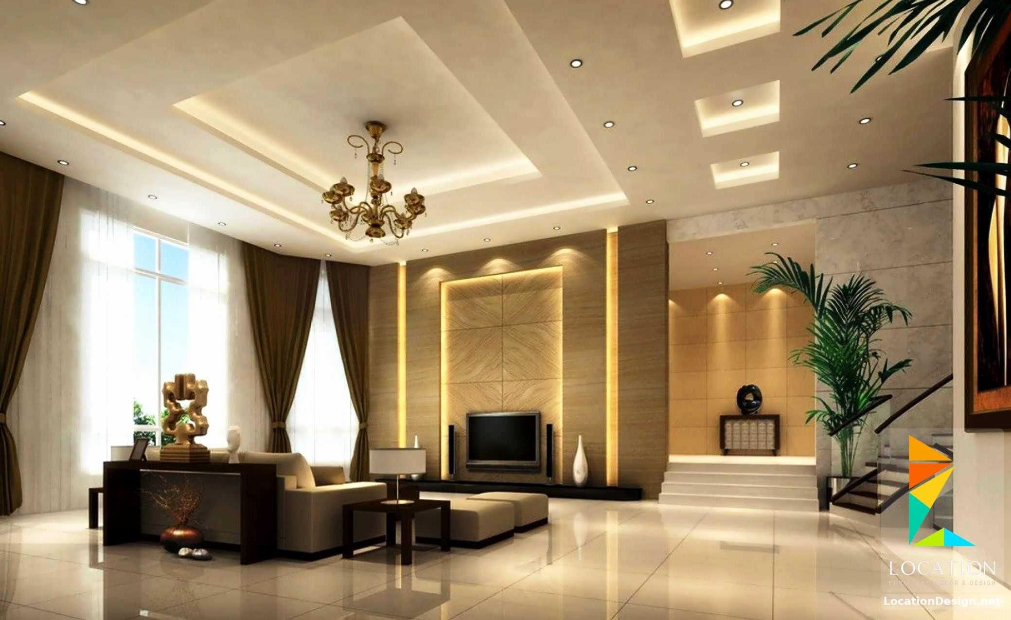 ديكورات جبس اسقف راقيه 2018 تصميمات جبسيه للشقق المودرن لوكشين ديزين نت Simple Ceiling Design Ceiling Design Living Room Ceiling Design Modern
