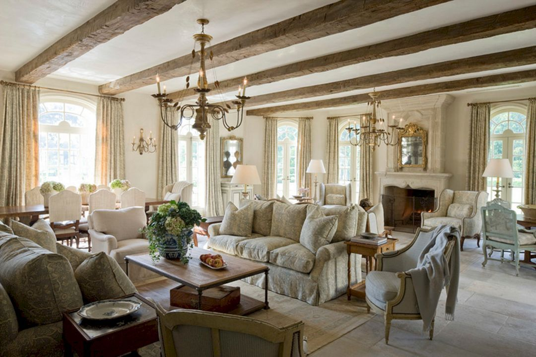 marvellous french style living room furniture | 20+ Marvelous French Country Living Room Design You Should ...