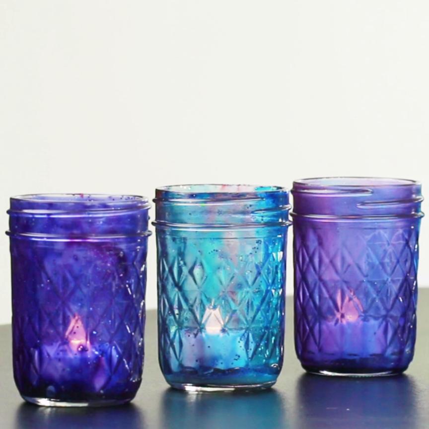 Photo of Galaxy Mason Jar