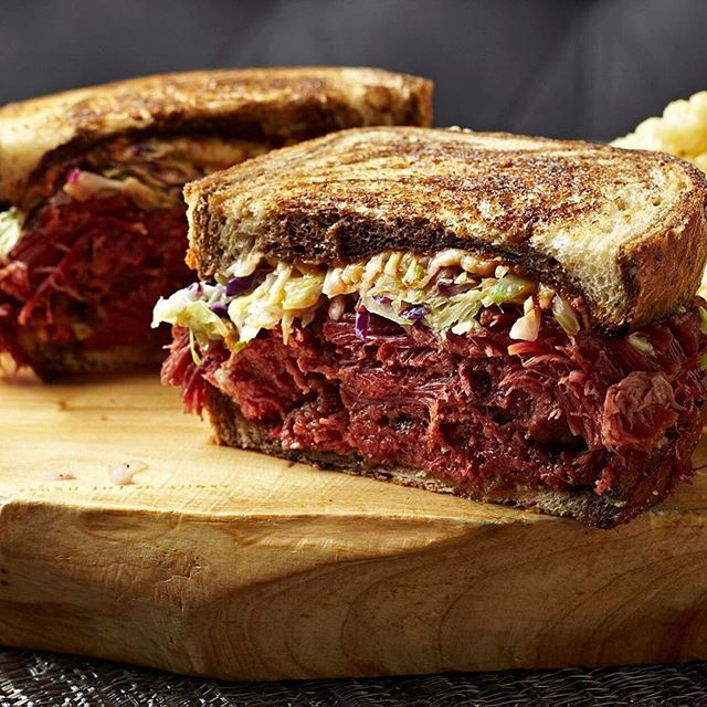 The Franklin Room Reuben Sandwich with house-made corned beef! http://ow.ly/10zQrS