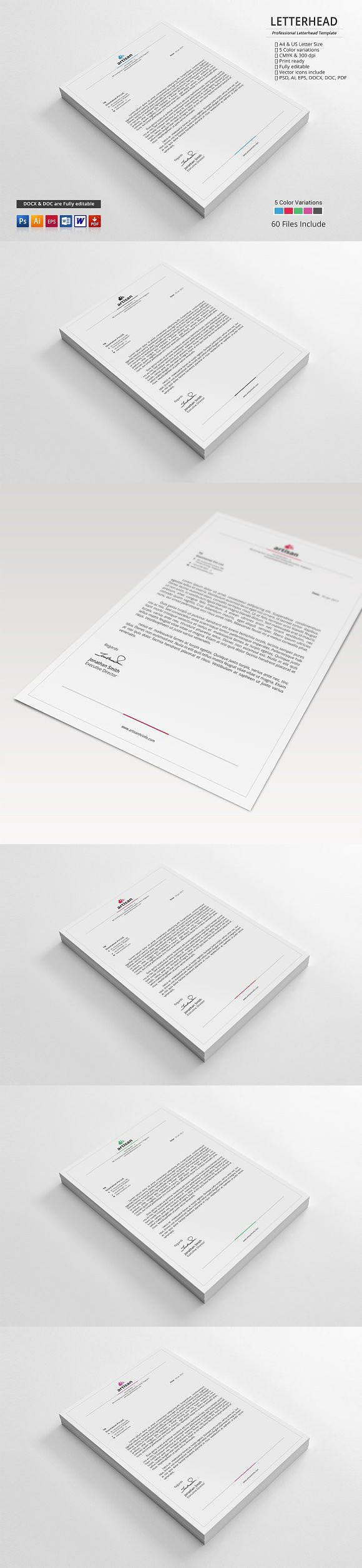 letterhead stationery templates stationery templates pinterest