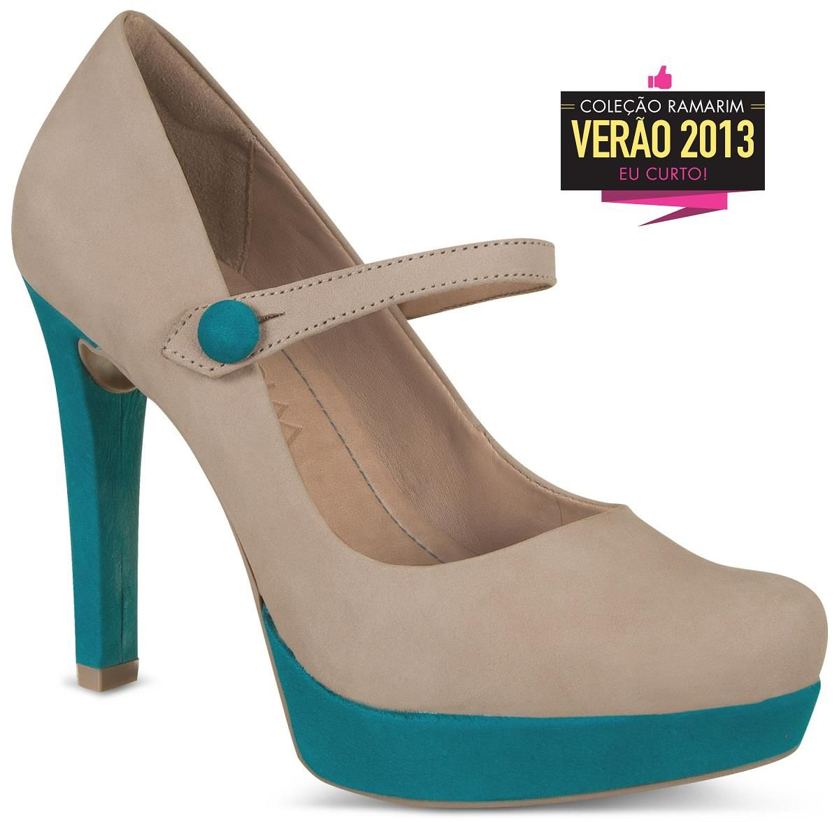 2898b318f2 Sapato da nova coleção Ramarim (Via Facebook - 3 9 2012)