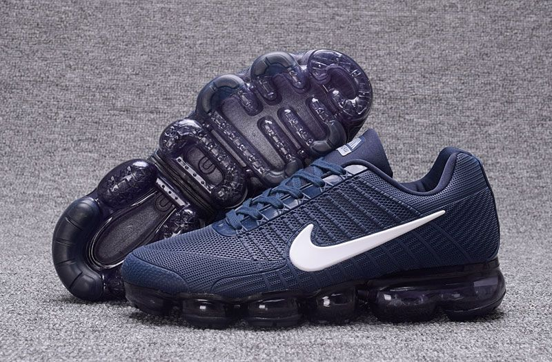 separation shoes 3bdb6 3b0a4 Men s Nike Air Vapormax Flyknit 2018 Running Shoes Blue UK Trainers Sale
