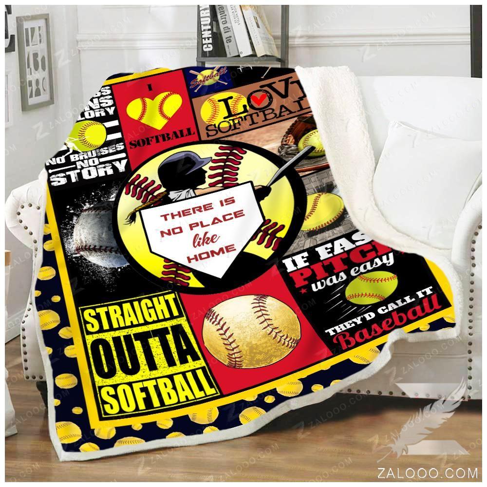 Softball Blanket Zalooo I raised mine 60x80 in