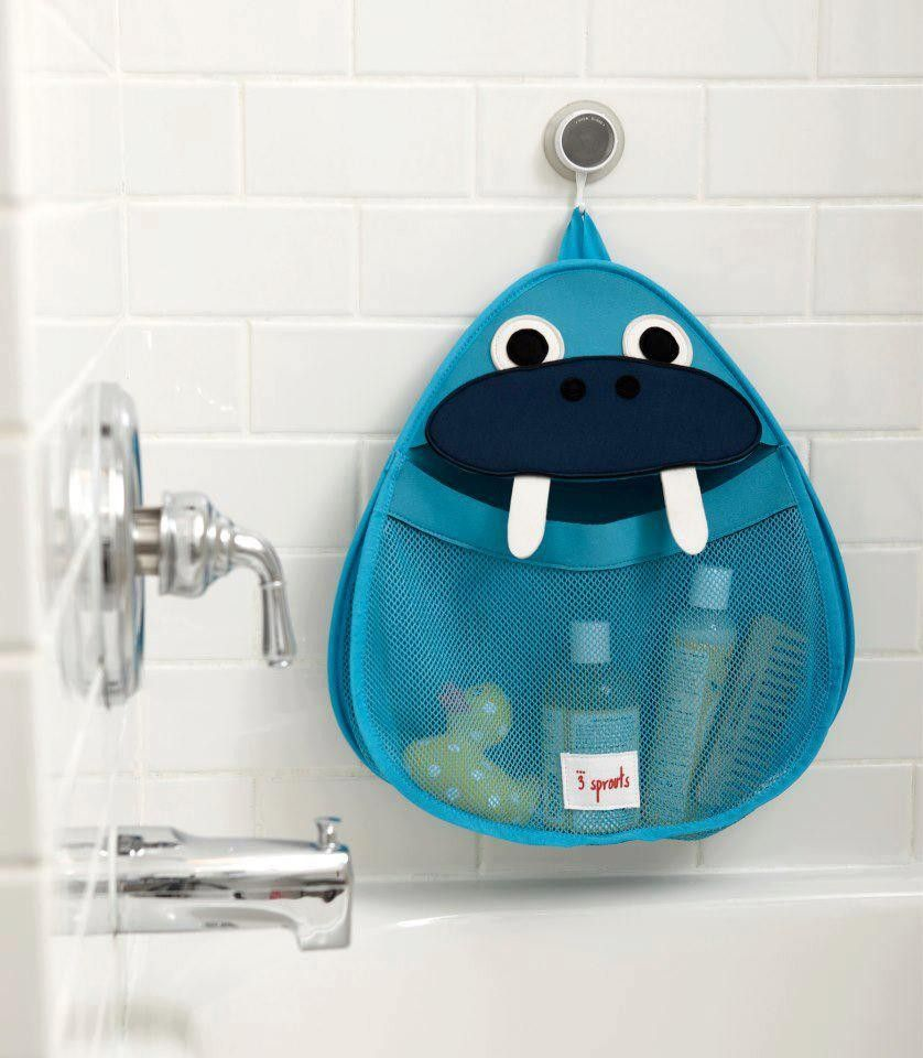 Panier à Linge Faon 3 Sprouts | Rangement pour le bain, Rangement jouet et Rangement jouet bain