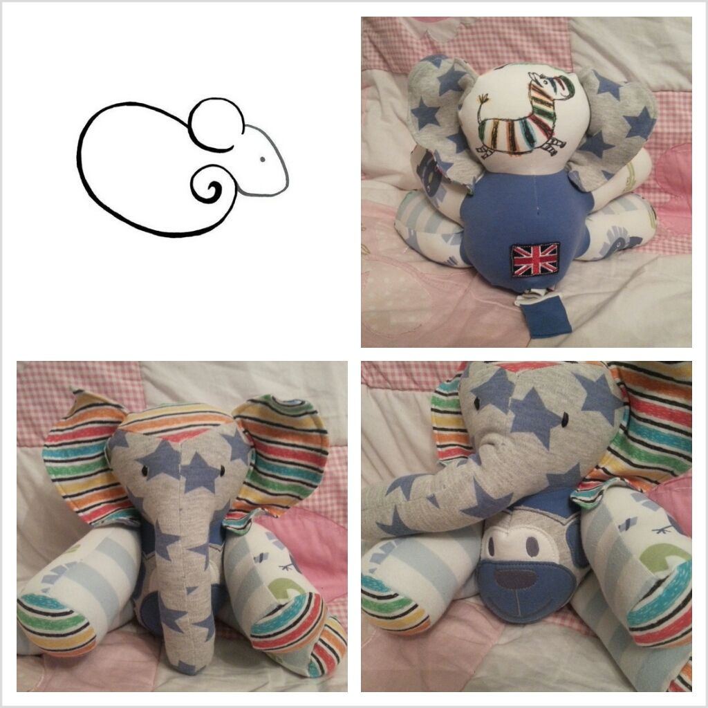 Turn Old Baby Clothes Into A Cute Stuffed Animal I Say
