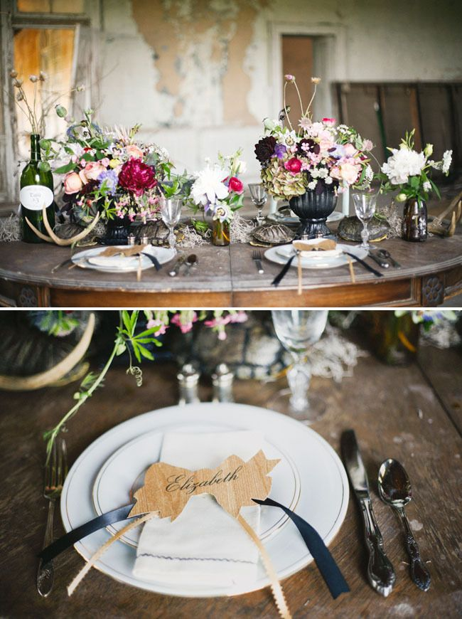 Fall Botanical Styled Shoot - Blog - RENT MY DUST Vintage Rentals featuring our mismatched china