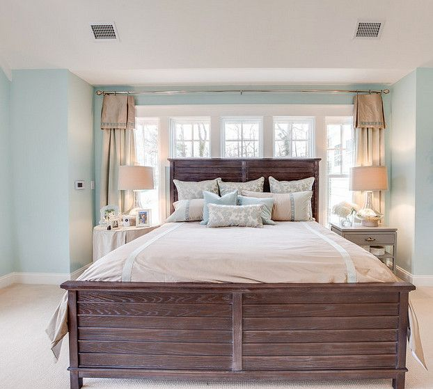 Tidewater. Tidewater By Sherwin Williams. Blue Bedroom