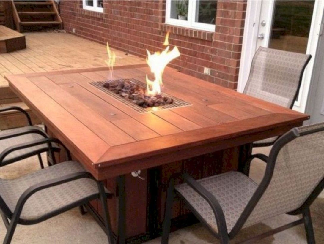 41 affordable diy project fire pit table ideas to decorate