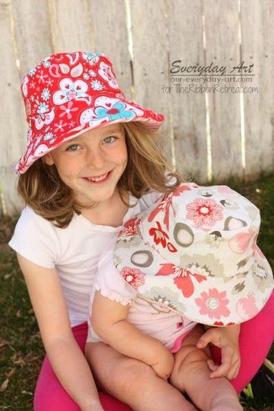 Sommerhut | kopftücher | Pinterest | Sommerhut, Mädchen und Mütze