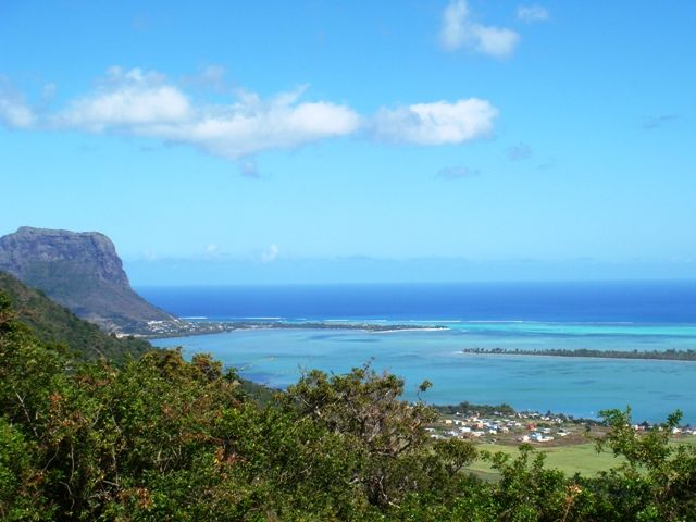 Unmatched landscape of Mauritius with a view on Le Morne