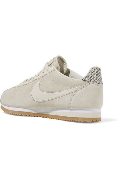 buy popular 34932 9cd4b Nike - + A.L.C. Classic Cortez suede sneakers | Products ...