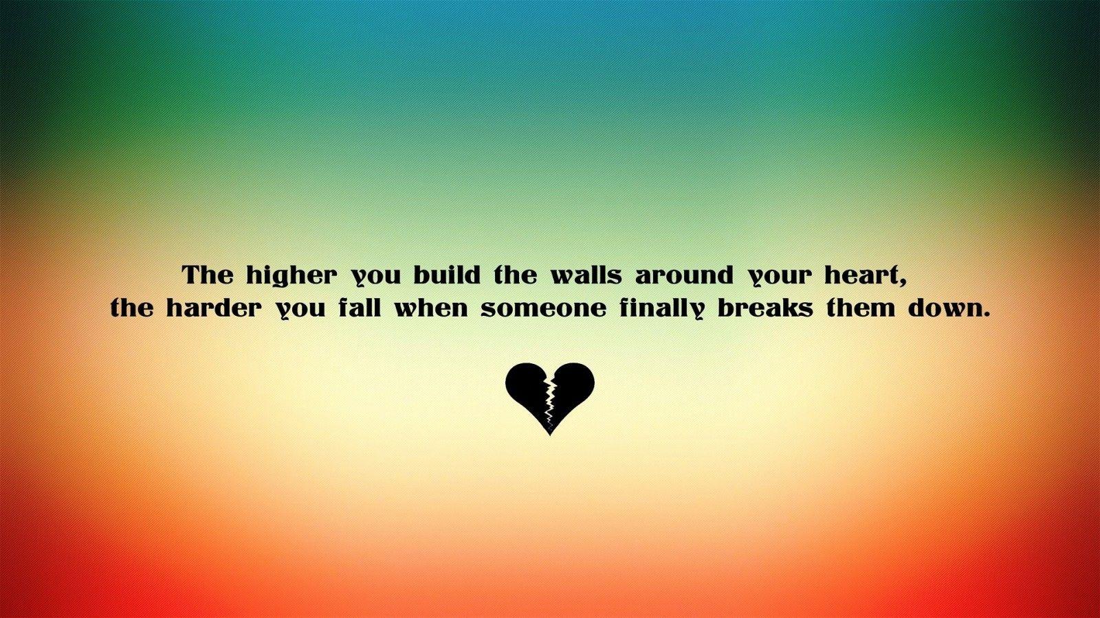 How trust again broken heart
