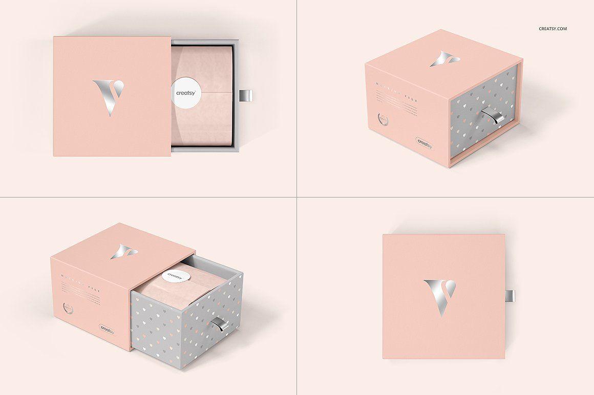 Download Gift Boxes And Bags Mockup Set Bag Mockup Gift Box Christmas Crafts For Kids To Make