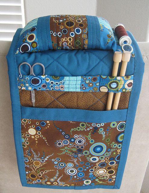 Armchair Caddy by applekrisp, via Flickr
