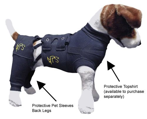 Protective Pet Sleeve Back Legs Pets Dog Treatment Fur Friend