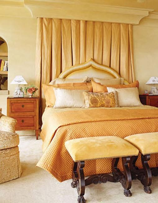 Bedroom Ideas With Black Headboard #homedecorblog