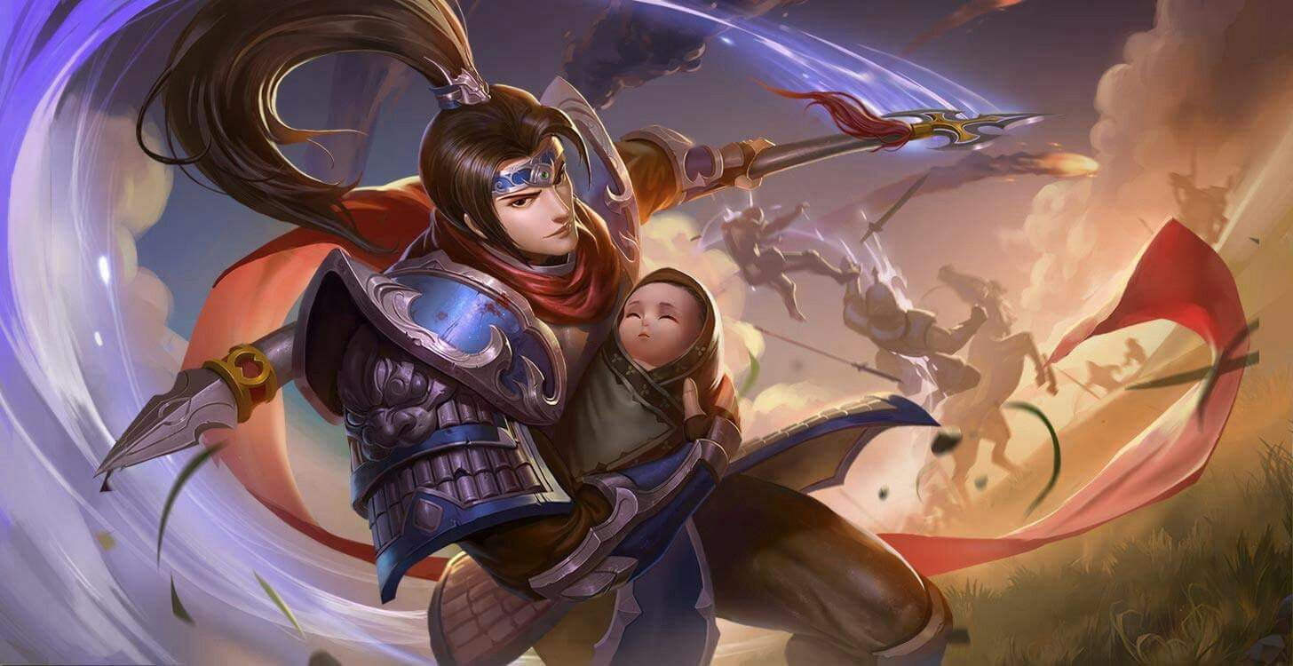 Zhao Yun Adonis Heroes Evolved Mobile Legends Mobile Game League Of