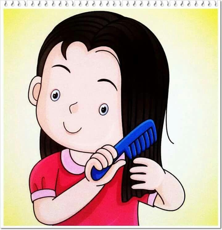 A peinarse  imagenes niños  Pinterest  Rutinas, Dibujos ...