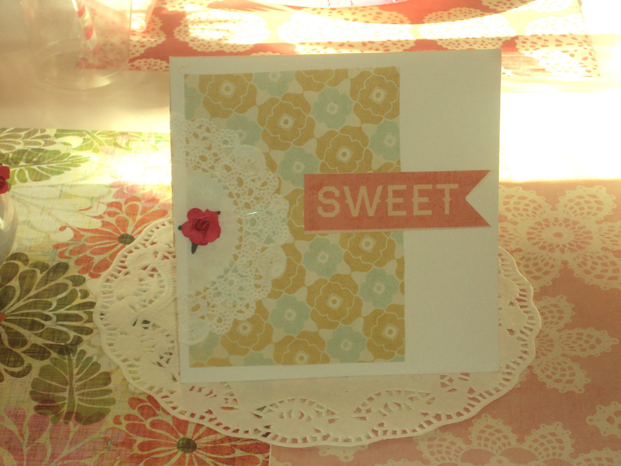 Handmade Tea Party Invitations!