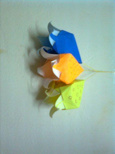 Origami Harebell Ideia Para Usar Com Lampadas Httporigami