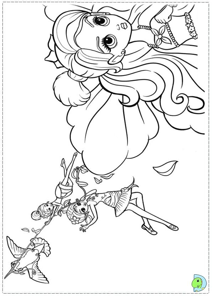Barbie Thumbelina Colouring Pages Fairy Coloring Pages Coloring Pages Coloring Books