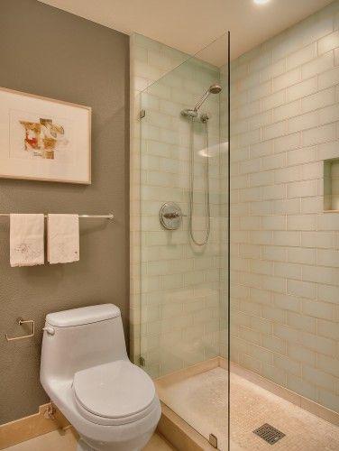 glass shower divide