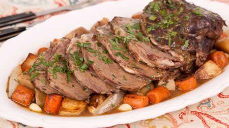 Roti de veau aux l gumes au cookeo une receyte facile cuisiner avec votre cookeo la maison - Cuisiner un roti de boeuf au four ...