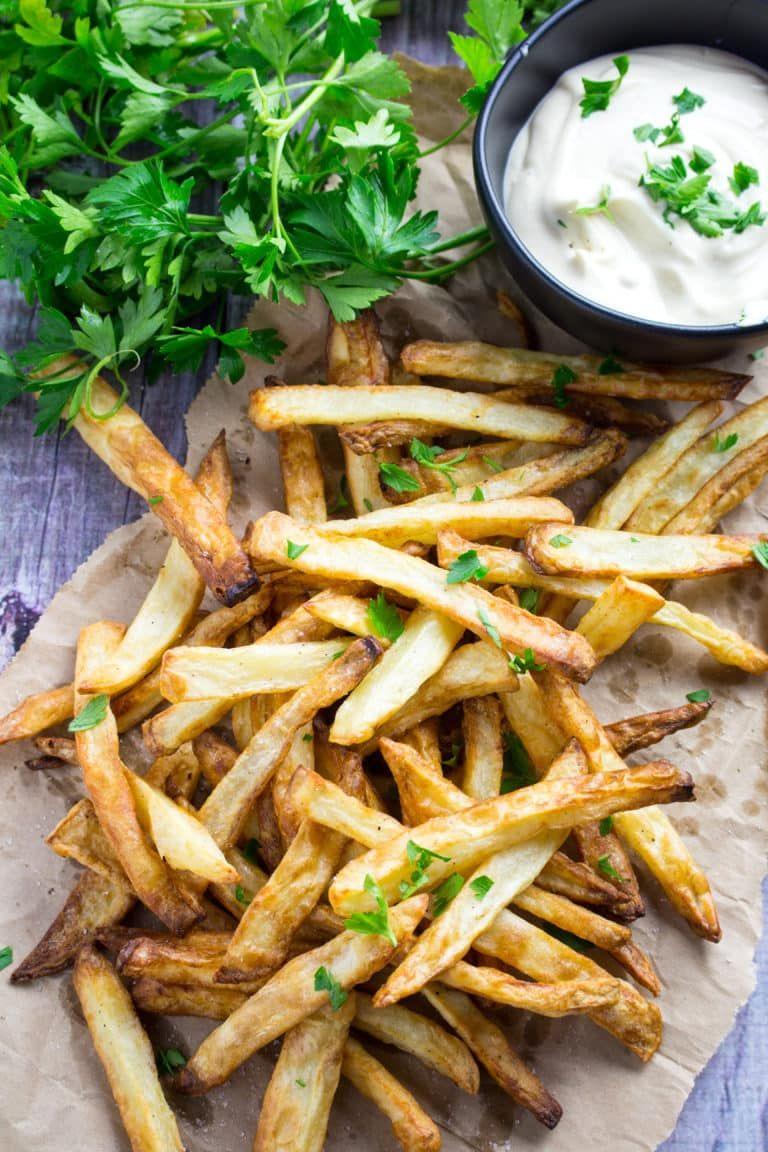 Crispy Air Fryer French Fries Dishing Delish Air fryer