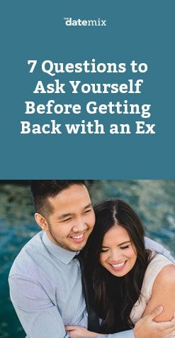ask ex for dating advice