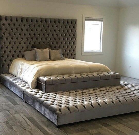 Sturdy sleigh bed for sex