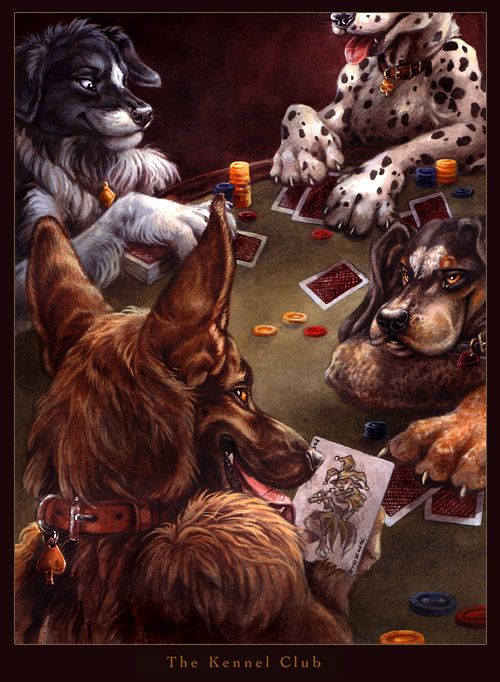 The Kennel Club 2 by kenket deviantart com on @DeviantArt
