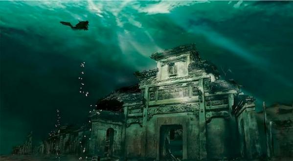 Ciudad undida Shi Cheng
