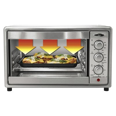 Oster 6 Slice Convection Toaster Oven Brushed Stainless Steel