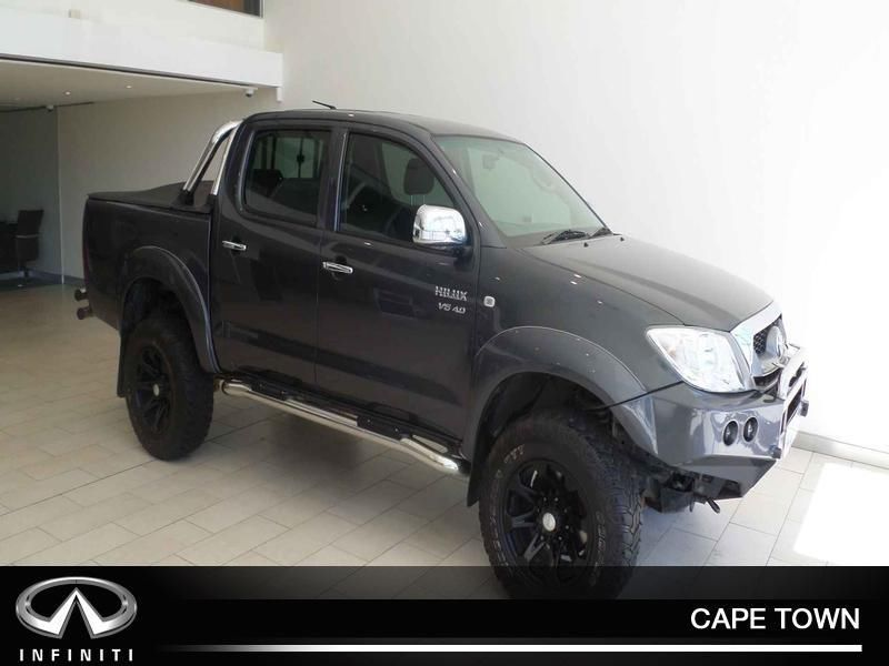 2009 Toyota Hilux 4 0 V6 D Cab 4x4 Raider At De Waterkant