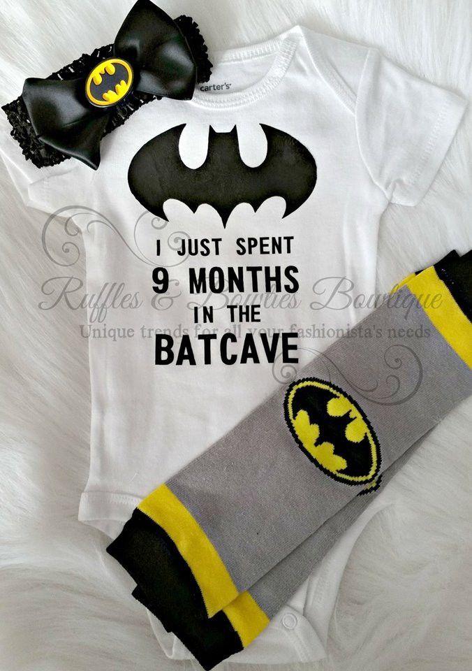 Baby Bat Ladies PRINTED T-SHIRT Cartoon Batman Pacifier Hero