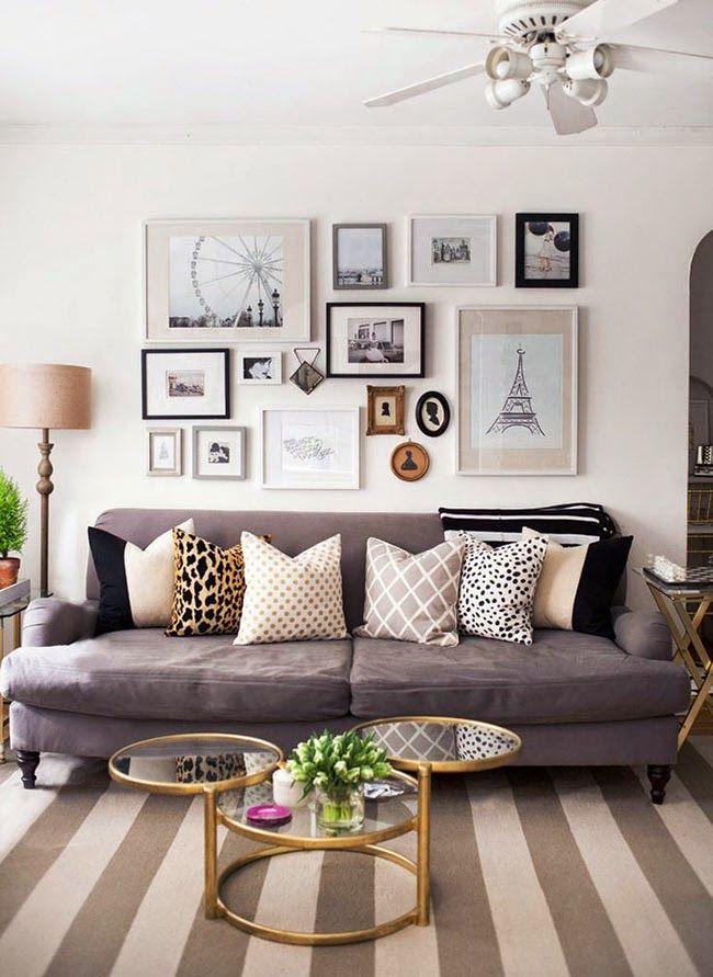 Home Shabby HomeDecorare una parete con i quadri | Quadri ...