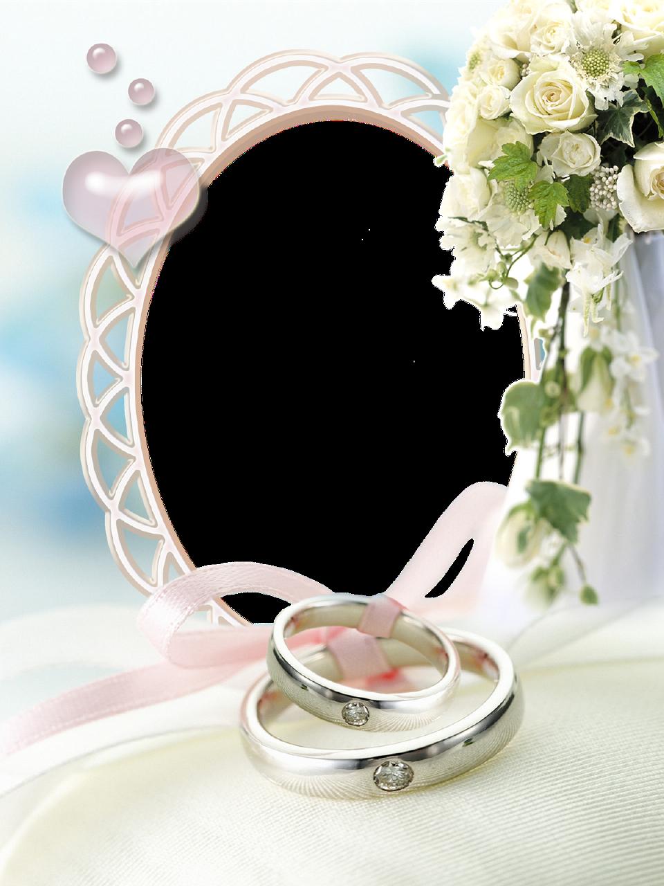 wedding transparent photo frame
