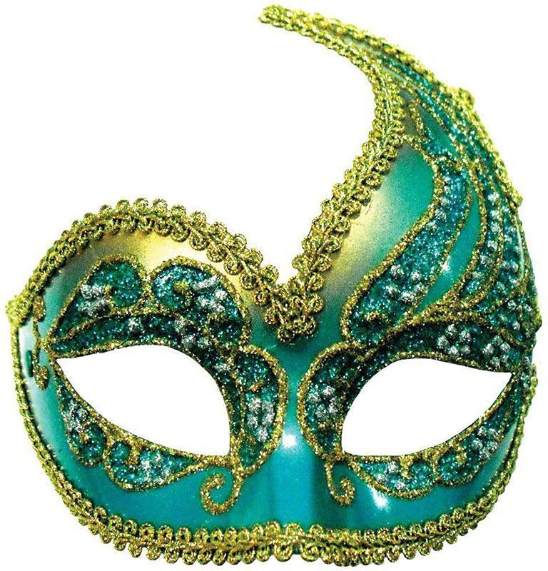 Decorative Masquerade Masks Turquoise Blue Gold Decorative Masquerade Eye Mask Hen Party 30