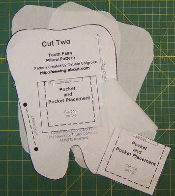 Sew A Personalized Tooth Fairy Pillow Crafts Sewing