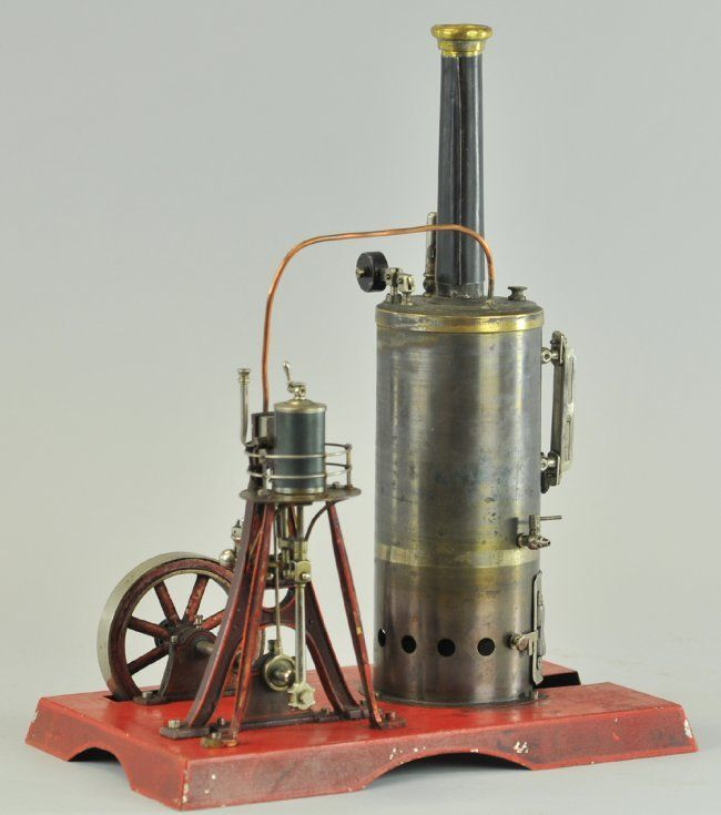 Lot:1283: GERMAN DOLL MARINE STEAM ENGINE, Lot Number:1283, Starting Bid:$150, Auctioneer:Bertoia Auctions, Auction:1283: GERMAN DOLL MARINE STEAM ENGINE, Date:04:15 AM PT - Sep 22nd, 2012