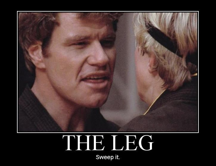 "John Kreese Quotes: ""Sweep The Leg Johnny! Put Him In A Body Bag! YEAHHHH"