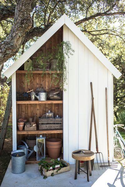 abri de jardin bois pvc toit plat abris de jardin maisonnettes et cabanes pinterest. Black Bedroom Furniture Sets. Home Design Ideas