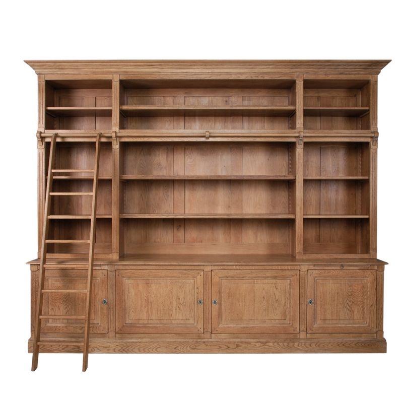 Grande Bibliotheque D Apothicaire Meuble De Metier Mobilier De Salon Grande Bibliotheque