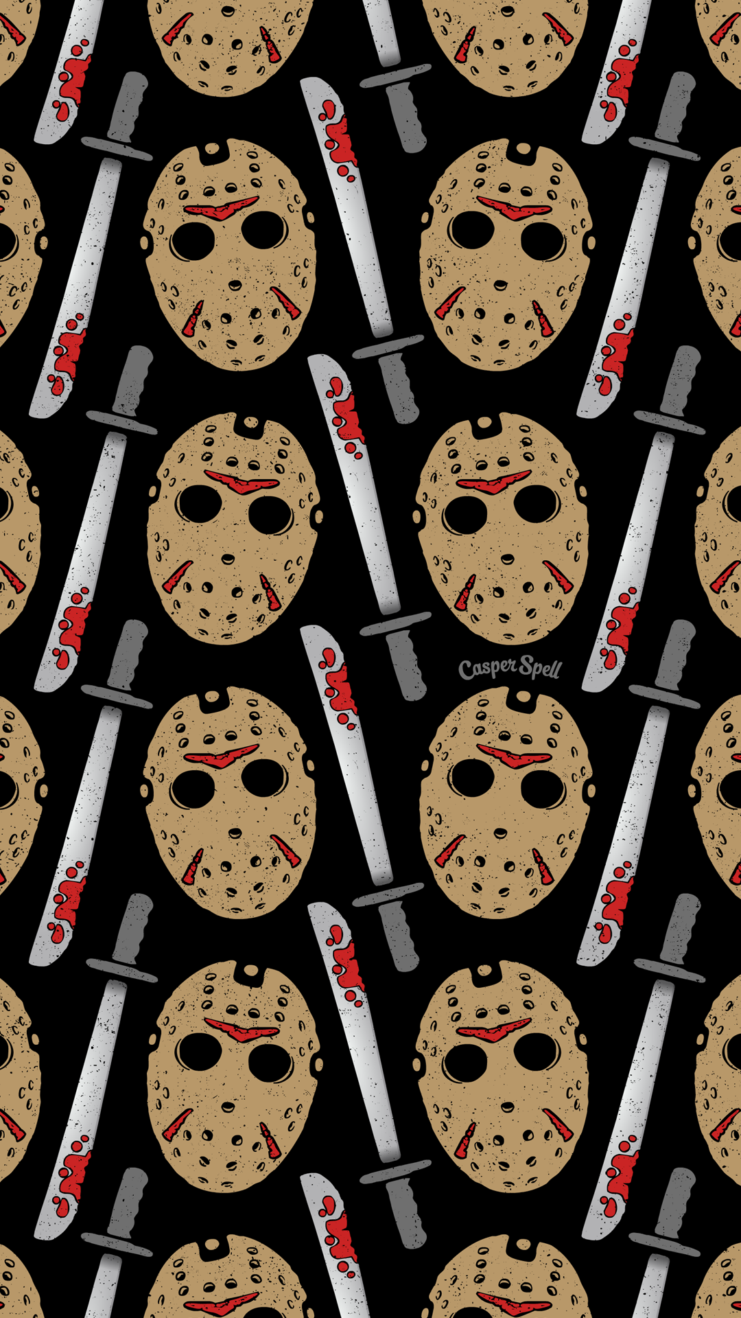 "casperspell ""Slasher lovers, this pattern is for you"