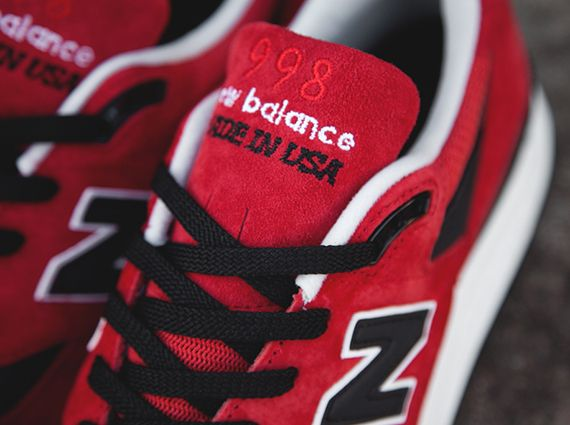 New Balance 998 - Red - Black - White - SneakerNews.com 42e3750aa43d
