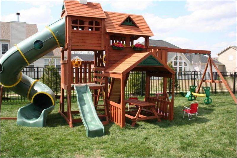 Big Backyard Alpine Wooden Playsets | Playhouse outdoor ...