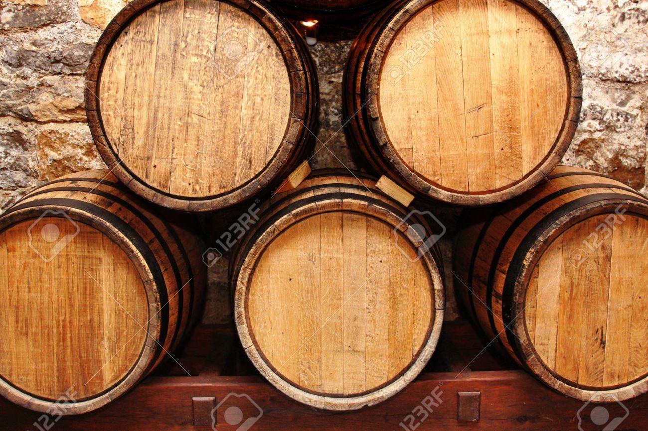 storage oak wine barrels. 10429453-storage-of-oak-wine-barrells-in-a- · Wine Barrels Storage Oak