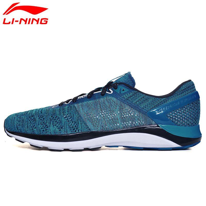 Li Ning Meska Super Lekki 14 Dmx Trampki Oddychajace Buty Sportowe Buty Do Biegania Amortyzujacy Arbm019 Xyp Running Shoes For Men Light Running Shoes Sneakers